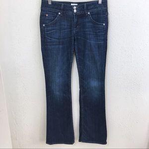 Hudson Signature Bootcut Jeans Flap Pockets 28